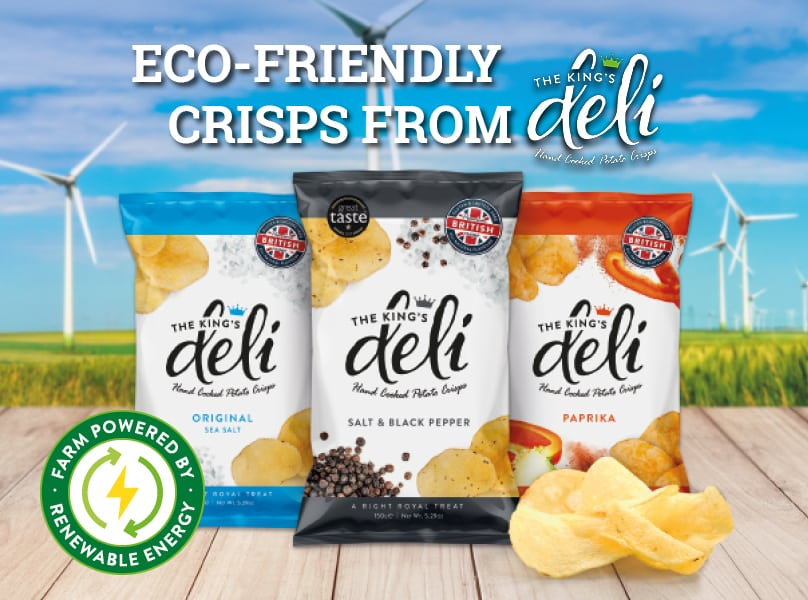 Eco-Friendly Crisps from The King's Deli