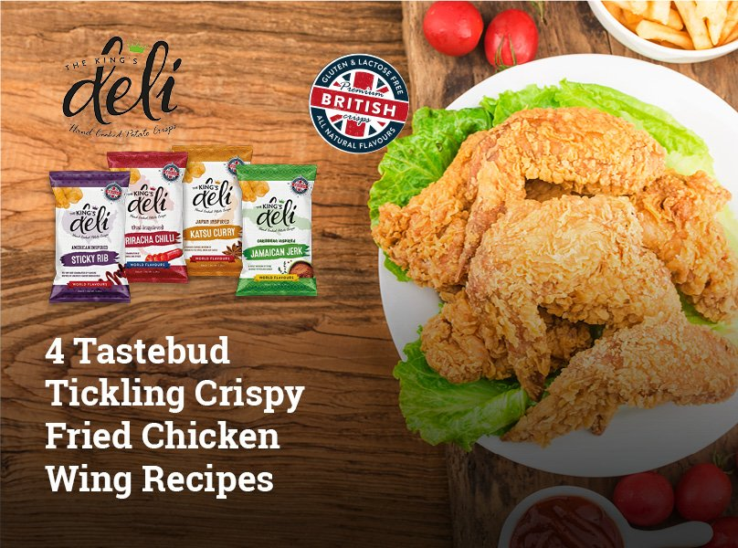 4 Tastebud Tickling Crispy Fried Chicken Wing Recipes