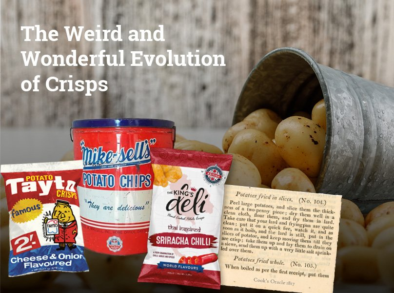 King's Deli's - The Weird and Wonderful Evolution of Crisps