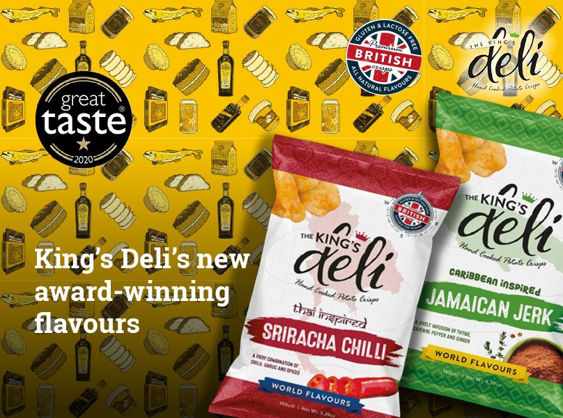 King's Deli's new award-winning crisp flavours
