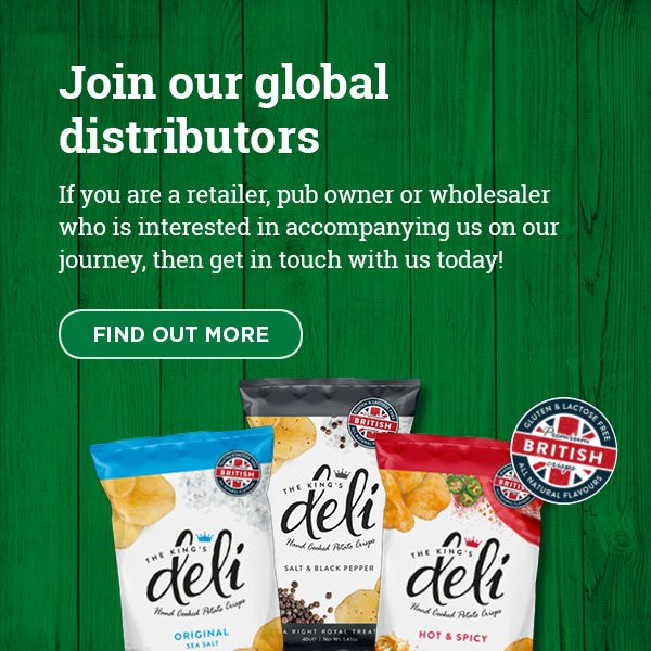 Kings Deli Homepage Trade Mobile Banner