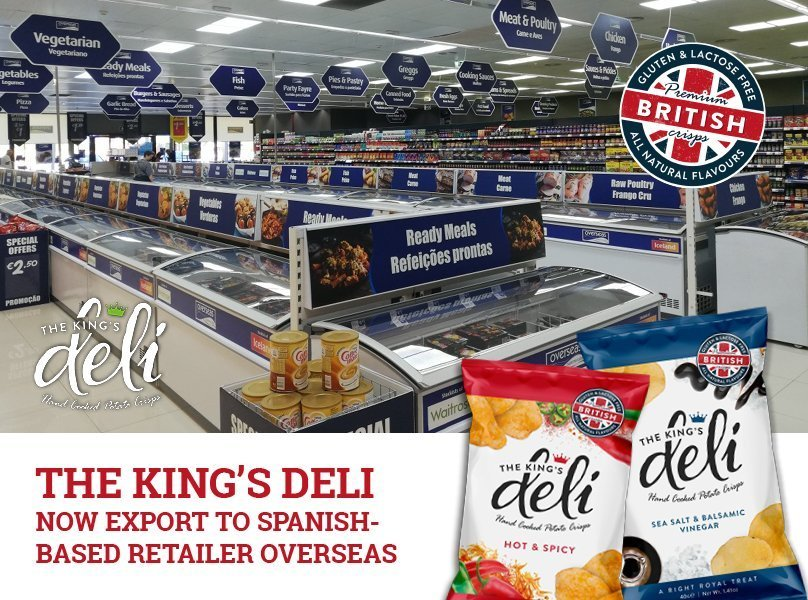 The King's Deli now export to Spanish-based retailer Overseas