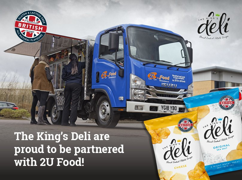 Proud to be partnered with 2U Food