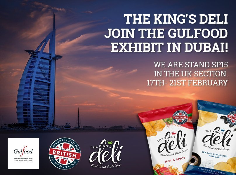 The King's Deli Join The Gulfood Exhibit in Dubai