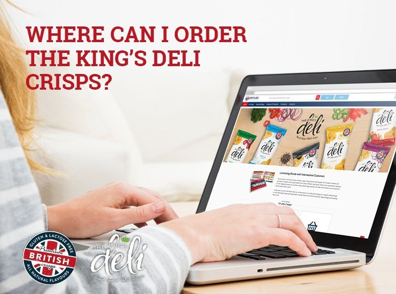 Where can i order The King's Deli Crisps?